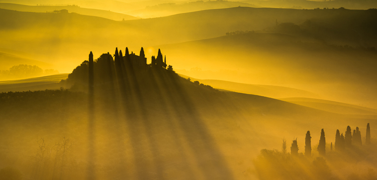 Paula Greco - Daybreak In Tuscany - B Color 1st Place