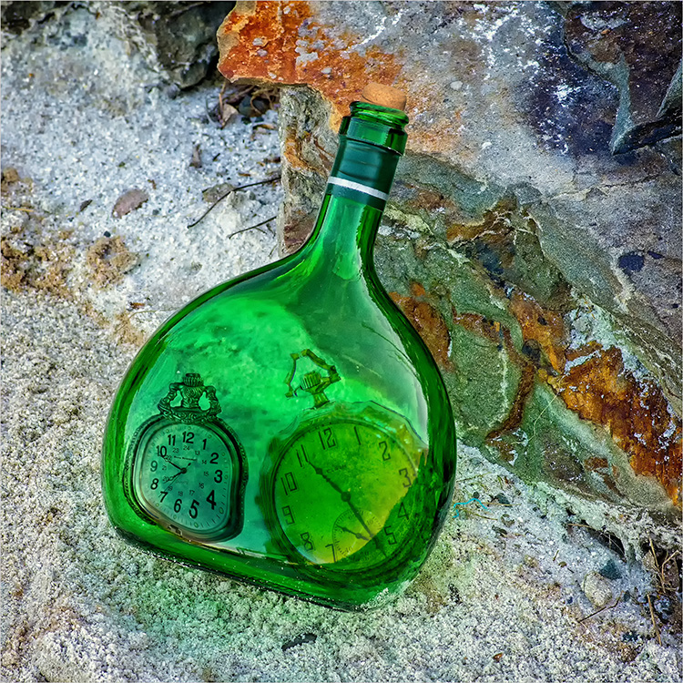 William Brown-Time In A Bottle-Creative IOM